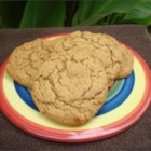 Healthier Big Soft Ginger Cookies - These big, soft, and moist gingerbread cookies are made healthier by using whole wheat flour, less sugar, and butter instead of margarine.