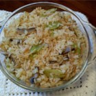 Armenian Rice Pilaf - This easy-to-prepare rice dish with noodles and chicken broth is a staple of Armenian homes. It's great as a side dish with baked chicken.