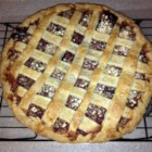 Poppin' Jalapeno Blackberry Pie - Give your summer blackberry pie an extra kick with the addition of jalapeno peppers to the filling. Homemade pie crust recipe is included!