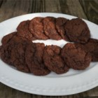 Gluten-Free Double Chocolate Cookies - Double chocolate gluten-free cookies are easy to prepare with a variety of flours including sorghum flour, creating a chewy and delightful treat.