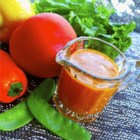 Sweet Pepper French Dressing - This is a sweet and tangy French dressing with subtle tastes of bell peppers and pimientos, accented by the flavor of olive oil.