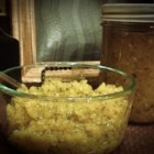 Homemade Sweet Zucchini Relish - Homemade sweet zucchini relish just like grandma used to make is a tasty addition to potato salad or homemade dressings.