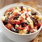 Easy Sweet 'n Hot Greek Salsa with Pita - Guests and family members will enjoy this fast, fresh Greek-inspired salsa served with feta cheese and pita bread wedges.