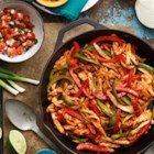 BBQ Chicken Fajitas from Old El Paso(R) - Try a new twist on the fajita using barbeque sauce. These are sure to impress all members of the family!