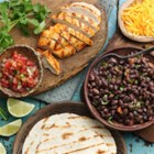 Easy Grilled Chicken Tacos - These tacos are perfect for outdoor grilling! Try grilling the tortillas for extra grilled flavor.