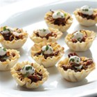 BBQ Bison Phyllo Bites - Tender, BBQ-spiced shredded bison brisket is baked in mini phyllo shells for these crowd-pleasing appetizers.