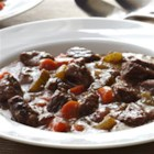 Hearty Cranberry-Bison Stew - Bison meat's rich flavor is complemented by fresh cranberries, herbs, and vegetables in this tasty stew with a tangy  twist.