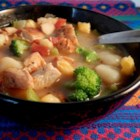 Amazing Gnocchi Soup - Gnocchi chicken soup is quick to prepare and is hearty enough as a main dish for cold winter evenings.