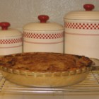Sour Cream Apple Pie I