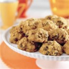 Harvest Pumpkin-Oatmeal Raisin Cookies - All the flavors of fall packed into a cookie - irresistible!