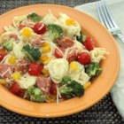 Tortellini Primavera - This tortellini primavera is packed with delicious flavors and is the perfect pasta salad for picnics and potlucks!