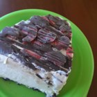 Ice Cream Cake - Here's an easy, quick cake that tastes great during the long hot summers.