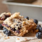 Blueberry Crumble Bars - Fresh blueberries make a terrific and sweet filling for this easy crumble. Serve it with a scoop of ice cream for a cool summer treat.