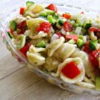 Fresh Vegetable Salad - This pasta salad is packed with fresh vegetables for a refreshing summer side dish.