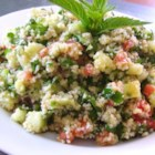 Fresh Tabbouleh - This fresh tabbouleh, made with bulgur, tomatoes, mint, and cucumbers has a refreshingly light dressing, perfect for warm summer nights.