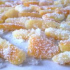Sweet Candied Orange and Lemon Peel - With this easy-to-follow recipe, orange and lemon peel become an elegant -- yet still a bit tart -- sugared confection.