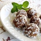 Coconut-Apricot Truffles - Use your food processor to make these sweet, crunchy candies! It's so easy.