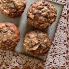Hearty Breakfast Muffins - Start the day off right with a hearty breakfast muffin loaded with carrots, zucchini, pecans, coconut, and bananas.