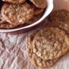 Cowboy Oatmeal Cookies - It's a great cookie, one of the kids' favorites. This doesn't call for nuts, but I sometimes add about 1/2 cup of chopped walnuts or pecans.