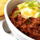 Tori's Beanless Chili - A big pot of beefy chili without beans is not too spicy for the kids but has a hearty flavor that appeals to adults.