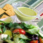 Lime Cilantro Vinaigrette - This uniquely zesty salad dressing blends fresh lime juice, cilantro, and apple cider vinegar.