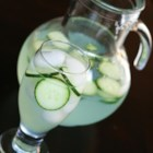 Virgin Cucumber Mojito - Use an instant Mojito powder and sliced cucumbers to make a pitcher full of summertime refreshment.