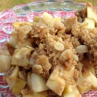 Granny's Sweet-and-Tart Apple Crisp - A sweet and tart twist on apple cobbler that disappears at every dining table.