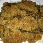 Renee's Pear Crisp - With a hint of cinnamon and nutmeg, this pear crisp is delicious served warm with vanilla ice cream.