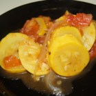 Summerly Squash - The best of the summer crop comes together in this fresh, flavorful squash and tomato side dish.