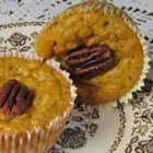 Sweet Butternut Squash Muffins - This butternut squash muffin recipe makes a beautifully bright-colored muffin perfect for the fall table.