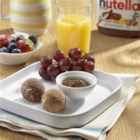 NUTELLA(R) Bites - This delicious recipe is great to make ahead of time to have on hand for a quick breakfast!