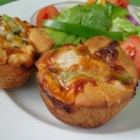 Pizza Muffins - Great muffin for lunches, with a pasta dish or a late night snack.