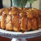 Monkey Bread II - Here is a recipe for a bread machine, though it can easily be done in the conventional, muscle building way. You use the dough only setting and do the rest by hand.  For machines that do 1 1/2 - 2 pound capacity.
