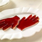 Halloween JIGGLERS Hands - Trace little hands to use as patterns for these Halloween JELL-O treats that you can float in punch or serve as snacks.