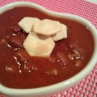 Justin's Hoosier Daddy Chili - This is a wonderful chili recipe that I have used to win chili cook-offs in Indiana. It's hearty and spicy award winning chili that is sure to hit the spot on a cold winter's night. The key is in using name brand tomato soup, I have tried it with others but haven't gotten the same results. Your friends will never guess the secret ingredient. Enjoy!