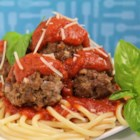 Meatball Nirvana - Parmesan cheese, Worcestershire sauce, and red pepper flakes combine to make the perfect meatball.