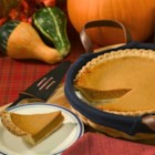 Kahlua(R) Pumpkin Pie - This pumpkin pie gets a kick from a healthy dose of coffee-flavored liqueur.