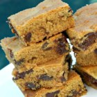 Peanut Butter Chocolate Chunk Bars - This amazing bar cookie treat will satisfy any craving for peanut butter and chocolate.