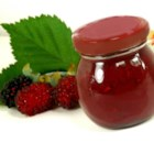 Blackberry Barbeque Sauce - And you thought blackberry jam was only for toast! Here it is stirred with ketchup, brown sugar, mustard, cayenne, and red wine vinegar in a sweet, pungent sauce great for pork, duck, or ribs.