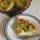 Broccoli Cheese Pie - This is somewhat like a quiche. The crust consists of Cheddar cheese, which is delicious. A must try.