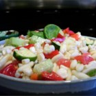 P.J.'s Fresh Corn Salad - My son in-law makes this salad during the summer. It is so refreshing on a hot day.