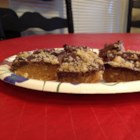 Aunt Betz Cookies - Delicious no-bake bar cookies!  For variety you can substitute butterscotch chips for chocolate chips.