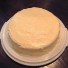 Creamy Lemon Cake - A refreshing lemon version of the popular orange cake.