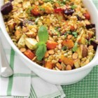 Butternut Squash and Cranberry Couscous - A fall-inspired Mediterranean salad.