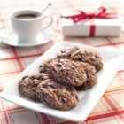 Coffee Chocolate Chip Brownie Cookie - These chunky chocolate chip cookies with coffee, brownie mix, and crumbled sandwich cookies are a chocolate lover's dream snack.