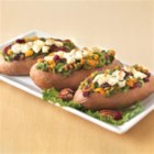 Twice Baked Sweet Potato - This nontraditional stuffed sweet potato is sure to make a statement.