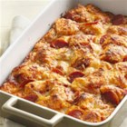 Grands!(R) Pepperoni Pizza Bake - You won't believe how quickly this pan pizza goes together!