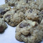 Soft Oatmeal Coconut Chocolate Chip Cookies - Flaked unsweetened coconut is paired with dark chocolate chips and almonds in these soft and chewy cookies.