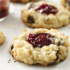 Cherry Sugar Cookie Macaroons - Pair tart red cherries and sugar cookie dough for homemade cookie goodness.