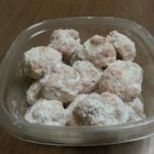 Cherry Snowball Cookies - These cherry snowball cookies are quick, simple, and a delicious variation on the classic!